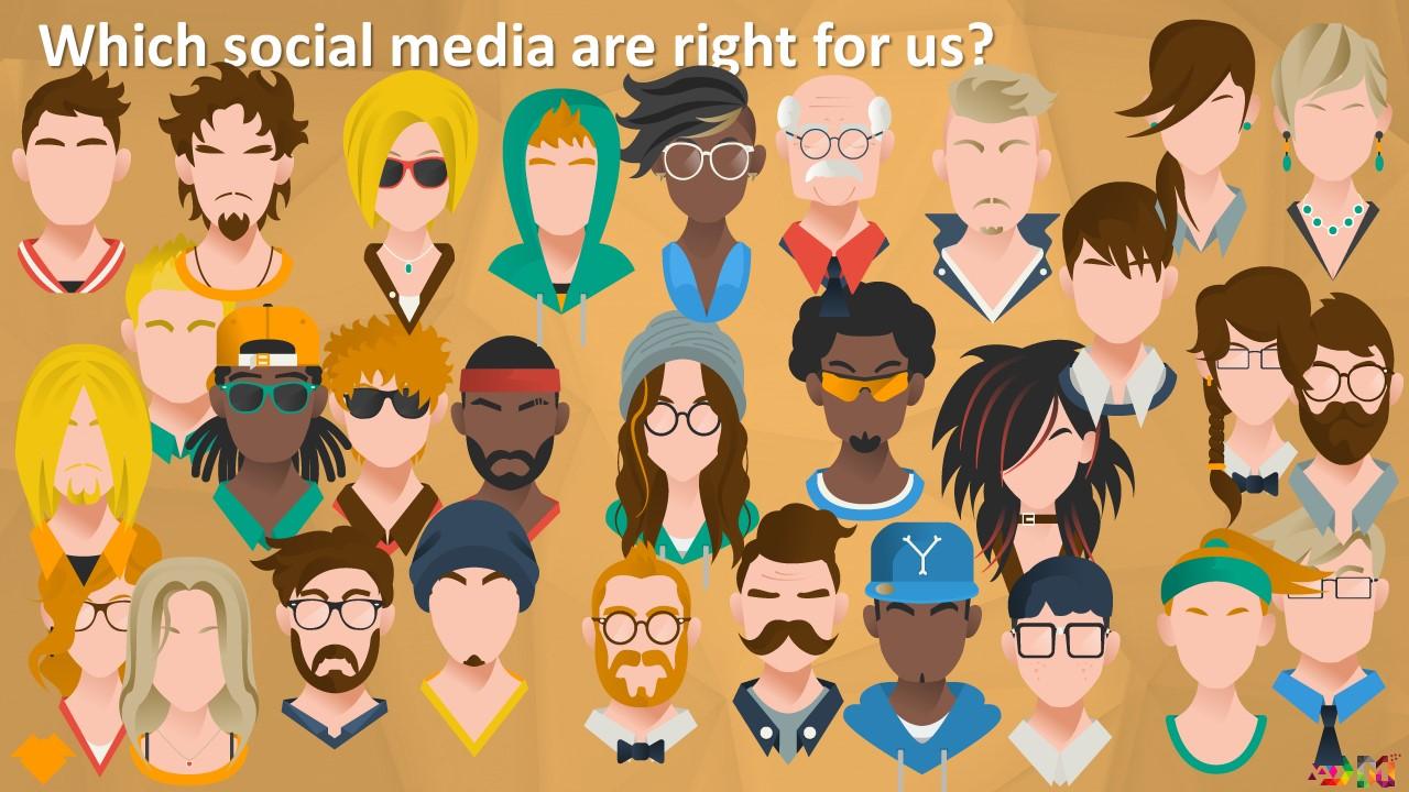 مخاطبین در شبکه های اجتماعی