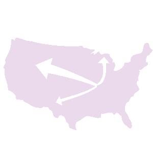 نقشه جریان یا Flow Map